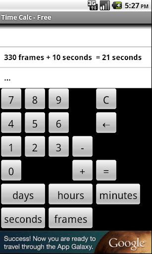Film Video Time Calculator