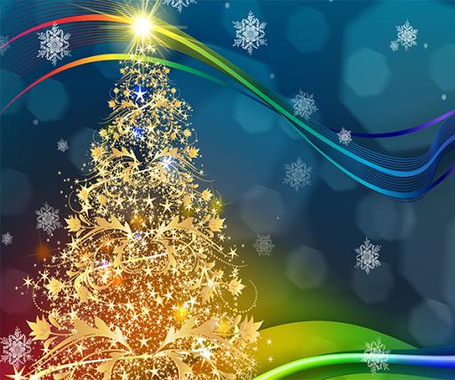 美丽的圣诞树