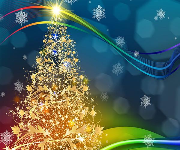 Snow Live Wallpaper: Christmas Tree Live Wallpaper