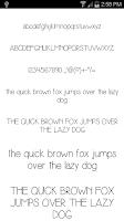 Screenshot of Fonts for FlipFont #18