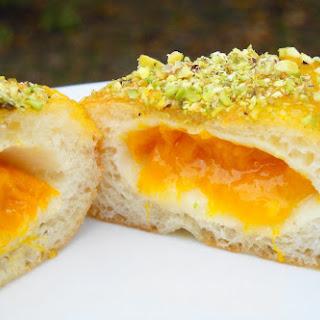 Mango Pistachio Doughnuts