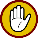 DO NOT PRESS (Factory reset) logo