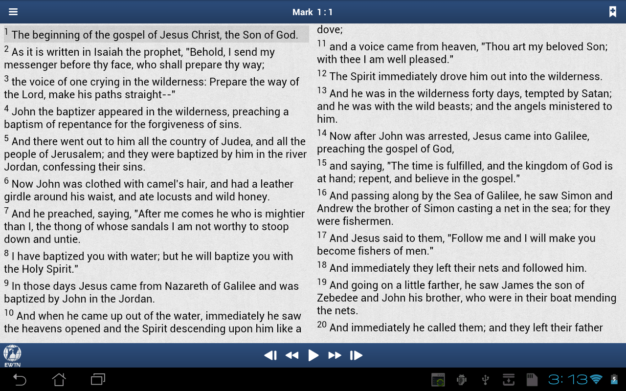 EWTN - screenshot