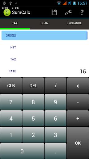 SumCalc - GST VAT Calculator