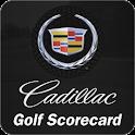Cadillac Golf Scorecard logo