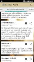 Screenshot of Dagelijks Woord