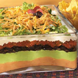 7-layer Mexican Ranch Salad.