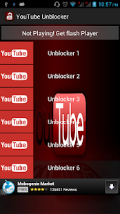 Youtube Unblocker - screenshot thumbnail