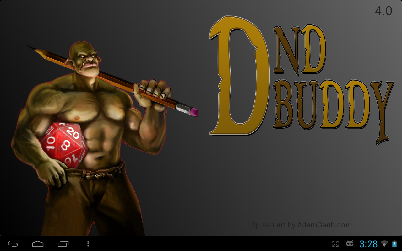 DnD Buddy- screenshot