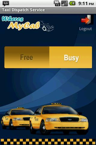 GPS TAXI DISPATCH (Driver) - screenshot