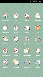 Molang School Iconpack