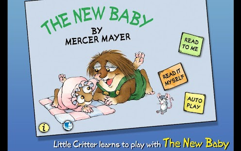The New Baby - Little Critter- screenshot thumbnail