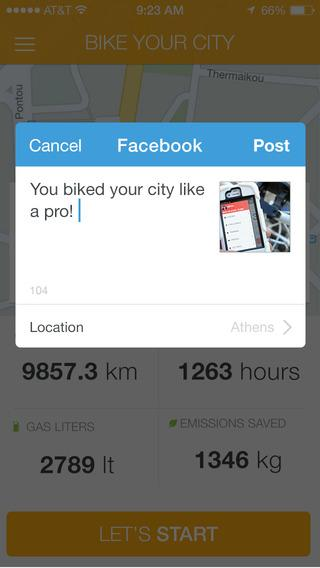 BIKE YOUR CITY- screenshot
