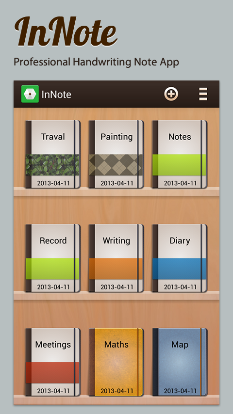 InNote- screenshot