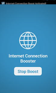 Internet gratuito Booster Screenshot