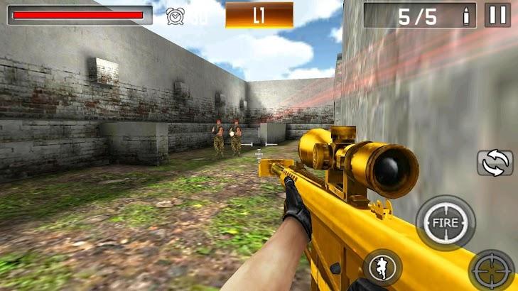 Shoot War:Professional Striker screenshot