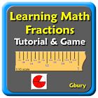Math Fractions Tutorial & Game icon