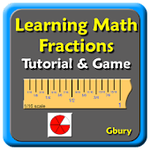 Math Fractions Tutorial & Game