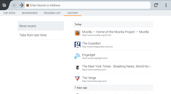 Firefox Beta — Web Browser Screenshot 24