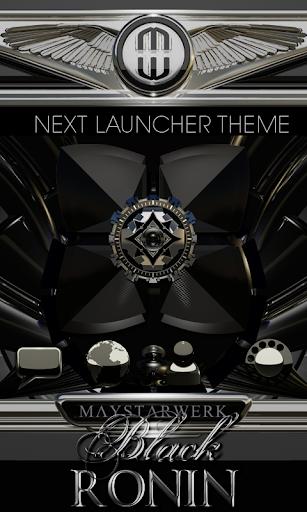 Next Launcher Theme Ronin