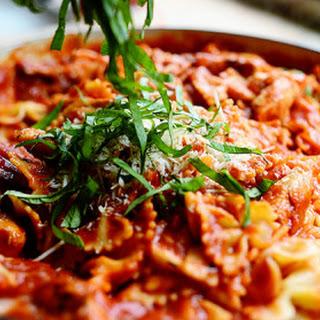 Skillet Chicken Lasagna.