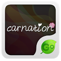 Carnation GO Keyboard  theme icon