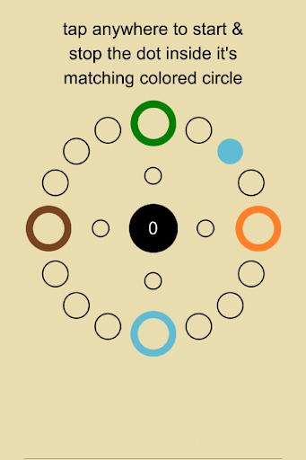 Stoppa Dot: free reaction game