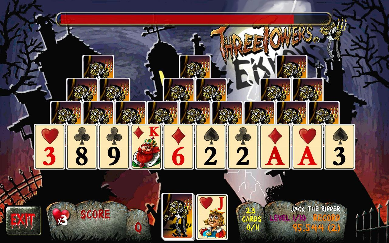 Three Towers Solitaire Ad Free- screenshot