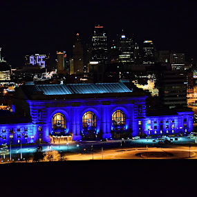Kansas City Union Station by Todd Nugent - Buildings & Architecture Public & Historical ( Lighting, moods, mood lighting )