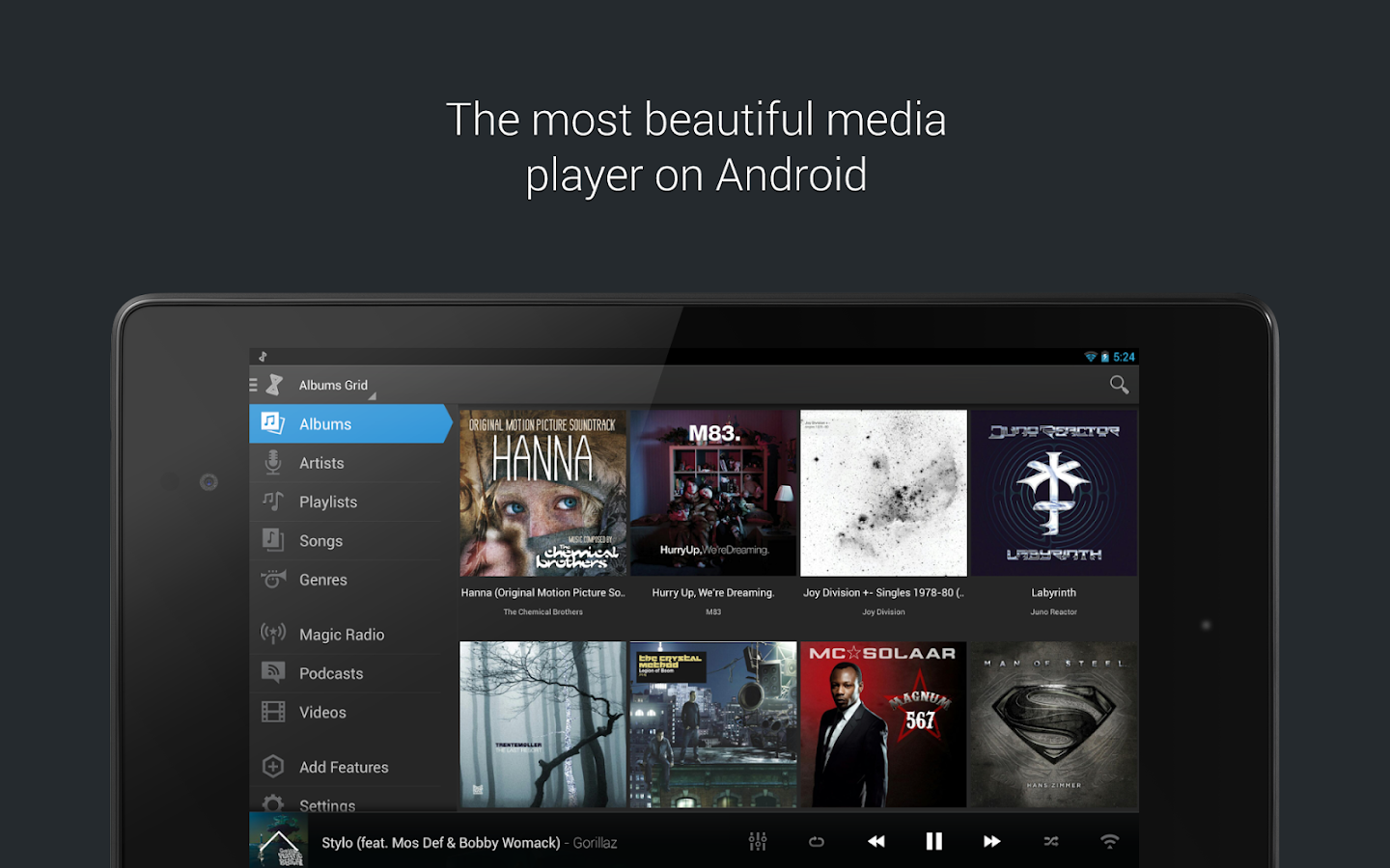 doubleTwist Music & Podcast Player with Sync- screenshot