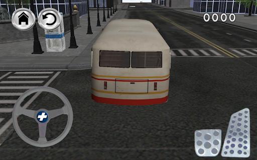 公交車司機3D模擬器遊戲