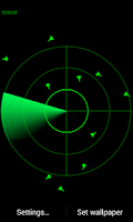 Screenshot of Radar LWP simple