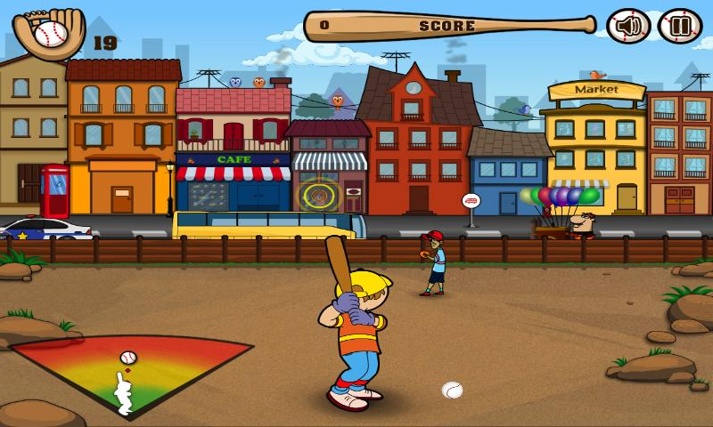 Street Baseball Free - screenshot