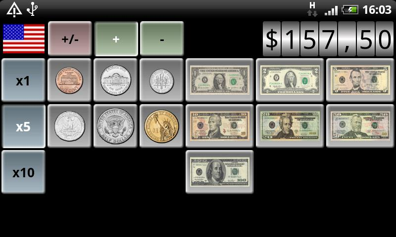 Cash Counter (ad-free) - screenshot
