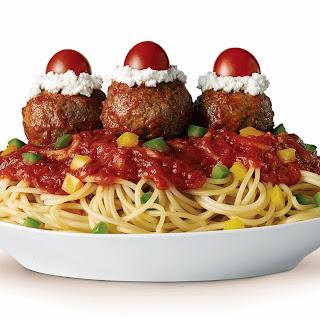 Spaghetti & Meatball Sundaes
