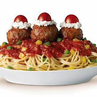 Spaghetti & Meatball Sundaes.