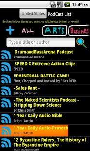 Ratpoison Podcast player - screenshot thumbnail