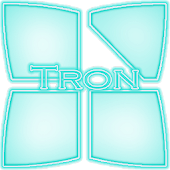 Next Launcher 3D Tron Theme
