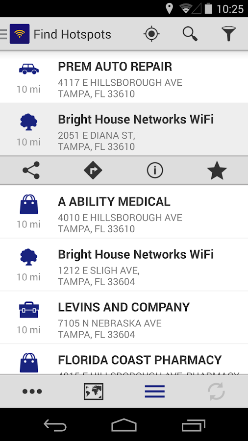 BHN WiFi Finder- screenshot