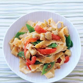 Asian-Style Pasta.