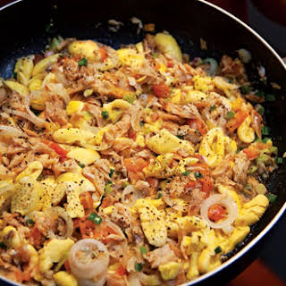 Ackee and Saltfish.