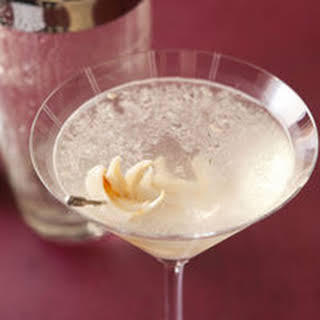 Lychee Vodka Martini.