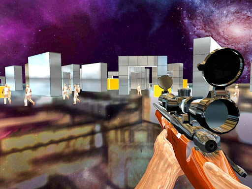 Space Sniper Shooting 3D