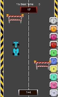 Math Racer Addition - Tablet- screenshot thumbnail