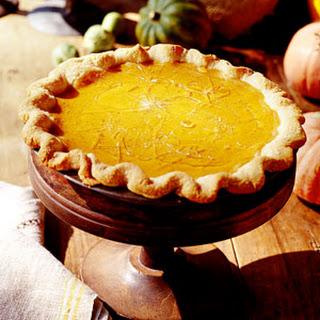 Cracked Caramel-Pumpkin Pie.