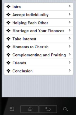 Marriage Training - screenshot