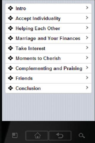 Marriage Training - screenshot