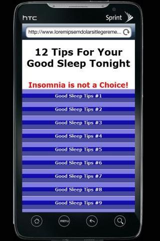 Your Good Sleep Tonight