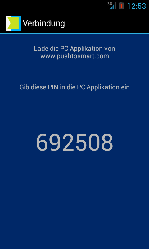 PushToSmart – Screenshot