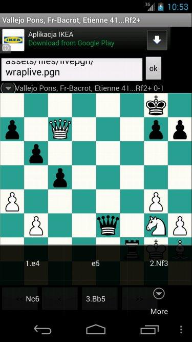 Free Chess PGN Browser - screenshot